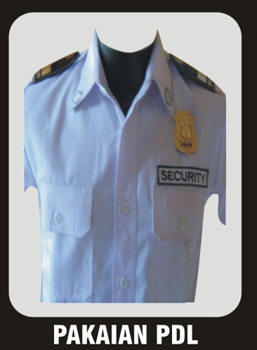 seragam security-PDL