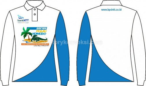 Polo shirt Promosi Bank NTT